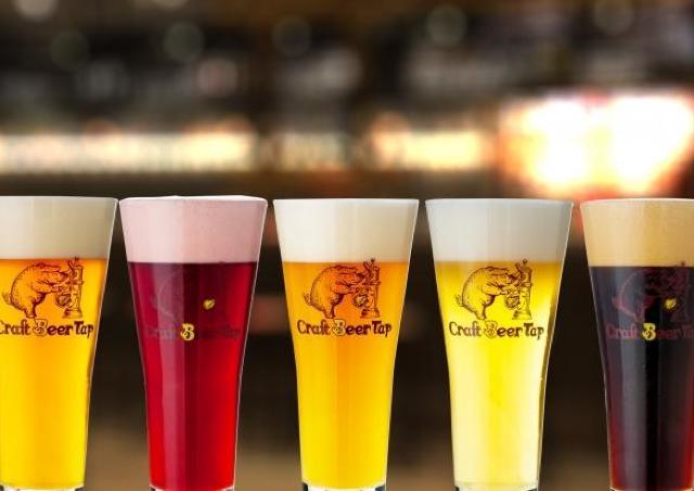 世界のクラフトビールが50種類以上!人気ビアレストラン関西初出店