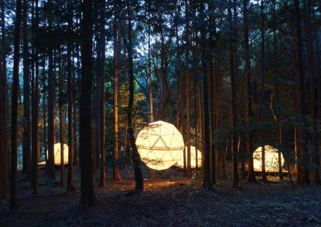 自然との一体感を味わって! 泊まれる公園「INN THE PARK」オープン