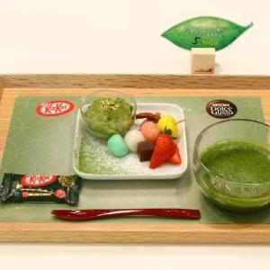 300円で抹茶&スイーツを楽しめる! ネスレが期間限定カフェ