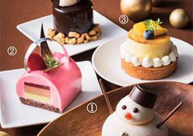 愛らしいスイーツも! 宝塚ホテルに「冬限定のケーキ」がやってきた