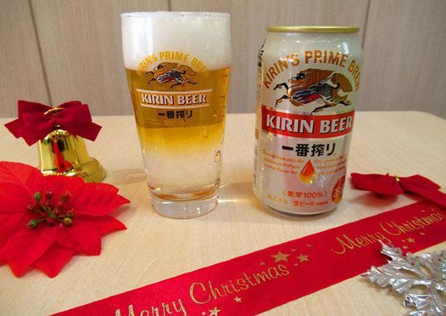 オリジナルビアカクテルで乾杯! キリンビール工場のクリスマス
