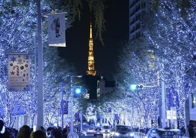 【夜の0円散歩】けやき坂イルミネーション、2月14日まで延長!