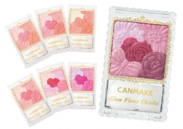 【800円】キャンメイクのお花チーク、限定カラーが可愛すぎる!