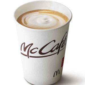 マクドナルドがカフェラテ値下げ! Sサイズが150円に