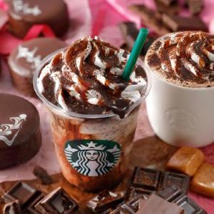 スタバで自分を甘やかそう。チョコ好き歓喜の新作ドリンク