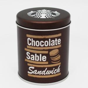 缶まで可愛い! スタバのチョコレートサブレサンドは売り切れ必至