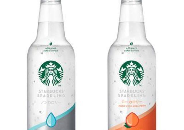 ボトルもおしゃれ。スタバから「透明スパークリングドリンク」新登場!