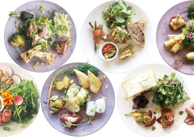 「北山農園」の無農薬有機野菜を使用! 数量限定でランチを提供