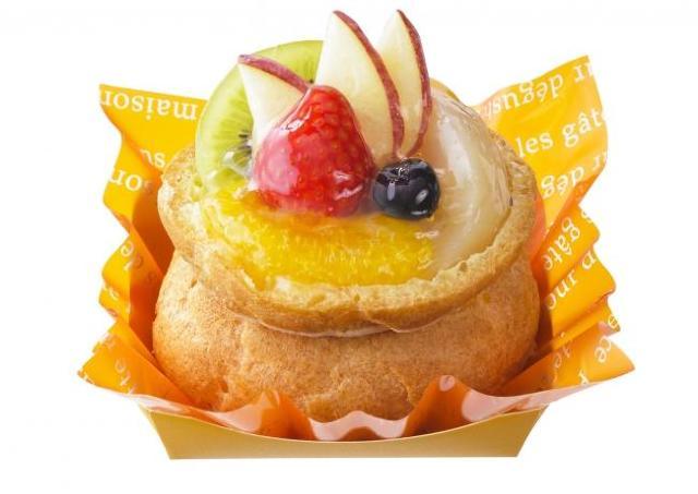 なんと華やかな! 銀座コージーコーナーに1日限定の「フルーツパニエ」