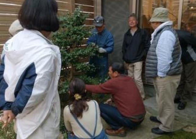 おうちでできる庭木の選定方法を伝授!「庭木のお手入れ講座」開催