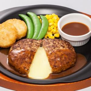 ガストの大定番「チーズINハンバーグ」、399円になるよ~!