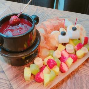 成城石井バーの「チョコフォンデュ食べ放題、まさかの値下げ!