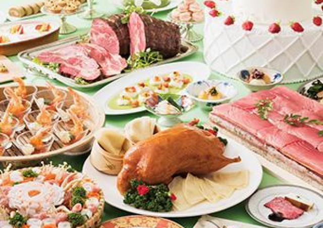 本マグロ、牛肉、エビ、いちごが贅沢に 「大・食楽祭」がランチとディナーで開催