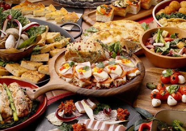 極上のチーズメニューを堪能 「イタリアンブッフェ」開催