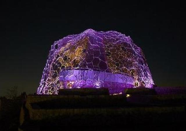 枕草子を幻想的な光で表現 「Lightscape in Rokko」開催中