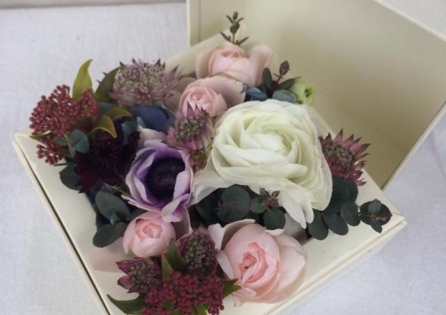 可愛い春の花のアレンジメントを楽しもう! 熊本で「ボックスフラワー作り」