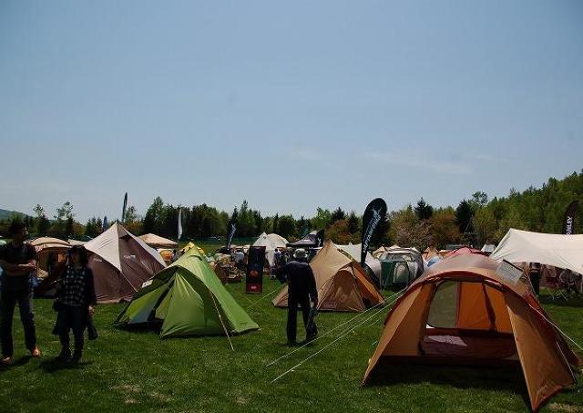 北海道のキャンプシーズンいよいよ到来!キャンピングフェア開催