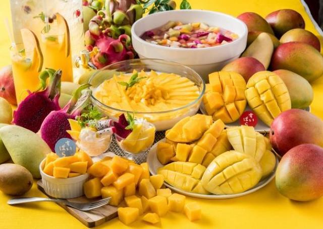 スイパラで「マンゴー食べ放題」開催 ハーゲンダッツも好きなだけ!