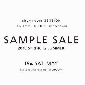 ファッション卸「showroom SESSION」、1日限りのサンプルセール