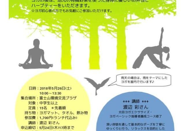 「森ヨガ」で心と体のバランスを整えよう!