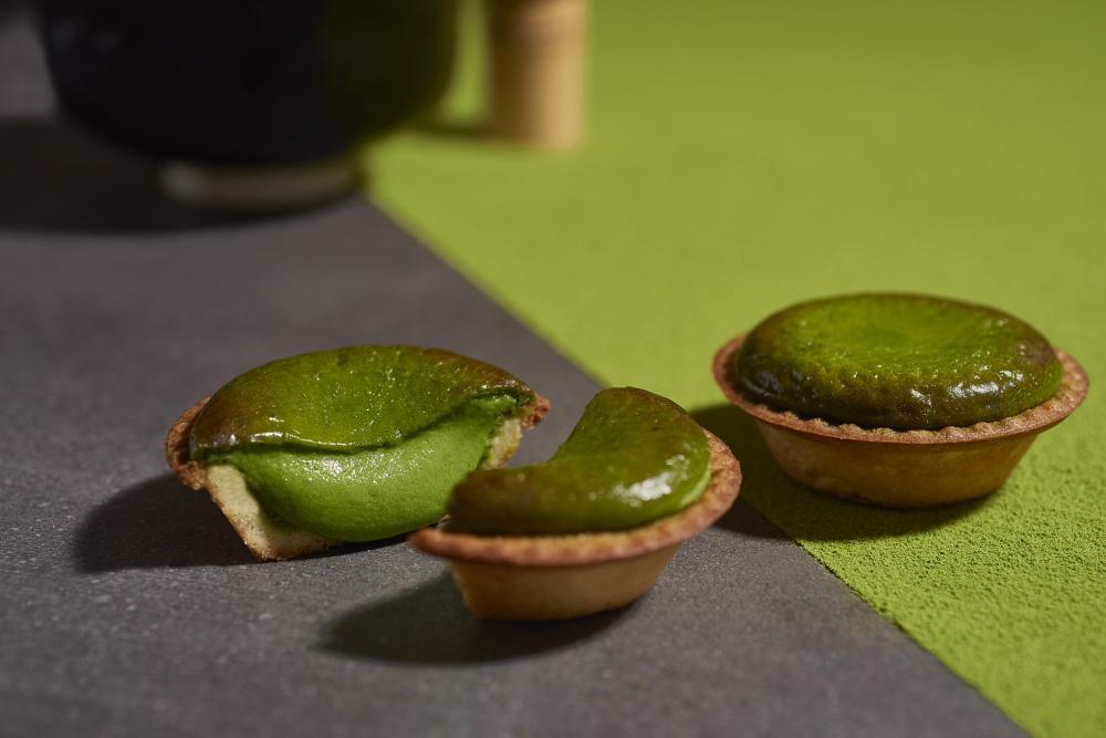 京都一保堂がBAKEとコラボ! 「焼きたて抹茶チーズタルト」発売