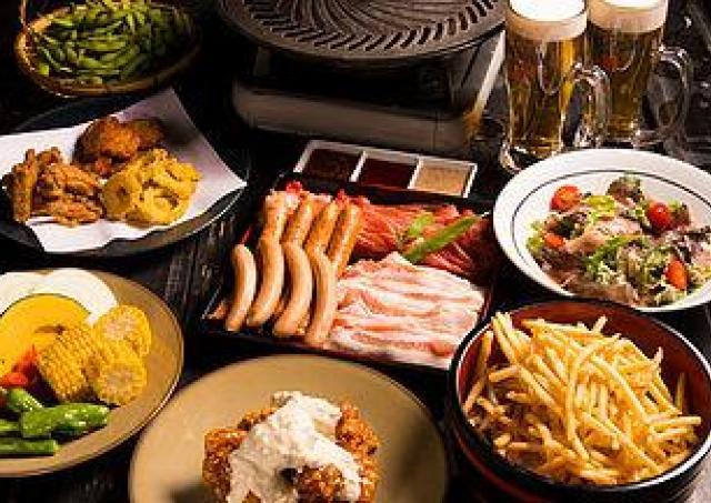 モダンな空間で北海道の味が楽しめる「和のビアガーデン」開催中