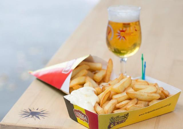 オープンビアテラスのような空間でベルギービールを堪能 「Belgian Beer Weekend」開催