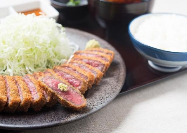 京都勝牛の新店、「牛カツ膳」1日だけ500円で提供