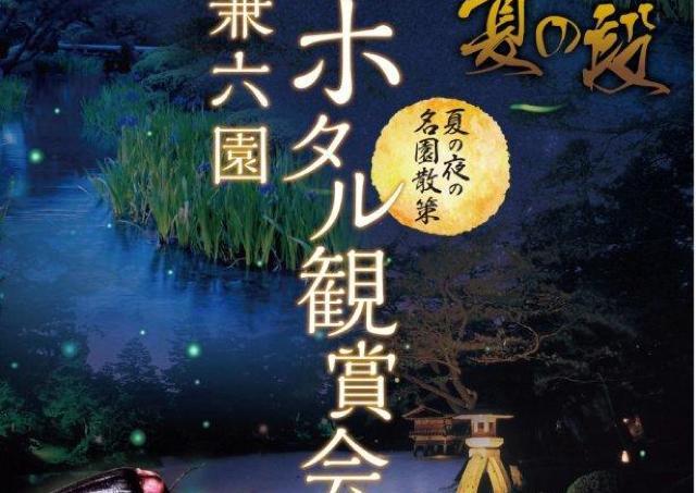 金沢の夜を彩るホタルの幻想的な光を楽しもう!