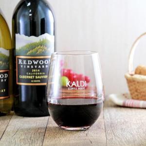 カルディでワイン買うと「非売品グラス」もらえるよ~!