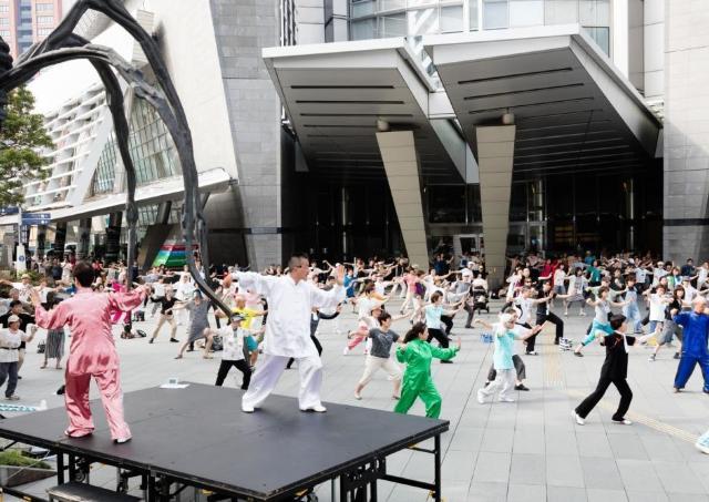 昨年2000人以上が参加! 0円で参加できる「朝の太極拳」イベント