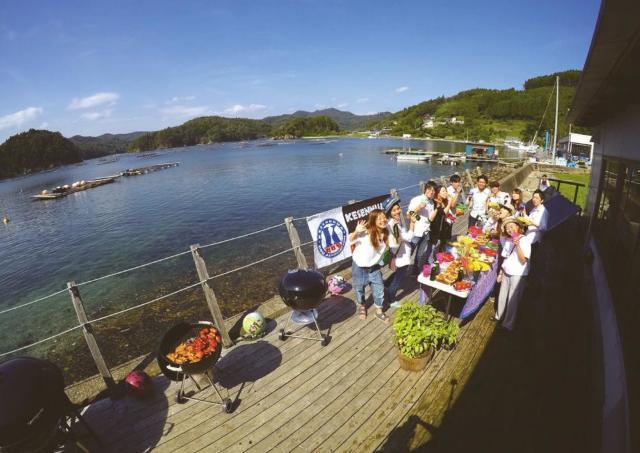 気仙沼で思い出に残る特別なBBQ体験を!