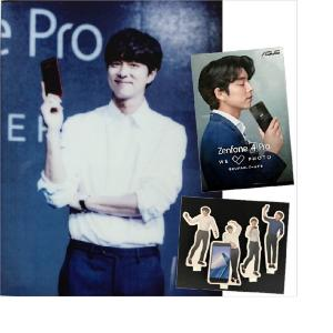 【プレゼント】コン・ユさんの生写真、ASUS ZenFoneとのコラボノベルティ(計6名様)