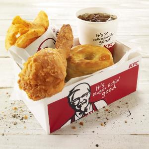 KFCさん、超お得な「500円ランチ」を発売!盛り盛りセットがワンコイン。