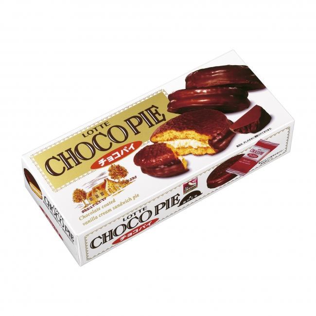 チョコパイはそのままで十分美味...