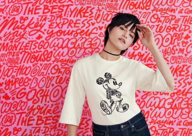 ユニクロUTのミッキーTシャツ、気鋭イラストレーターとコラボ!