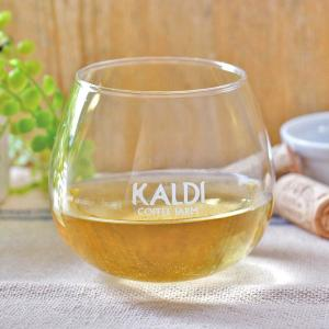 カルディでワイン買うと「丸底グラス」もらえるよ~!