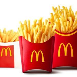 【朗報】マクドナルド、ポテト全サイズが150円に!