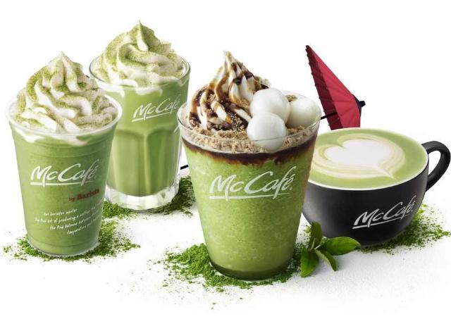 マックカフェの「抹茶シリーズ」が帰ってきた!今年は宇治抹茶増量。