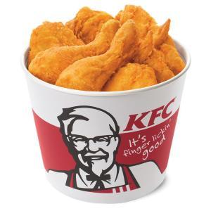 KFCのチキン9ピースが1500円! 水曜日限定の超得バーレル。