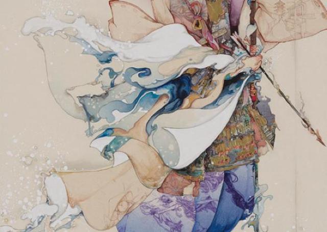 活動開始期から最新作まで、作品の魅力満載「入江明日香展」開催