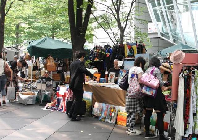 最大200店が集結! 東京国際フォーラムでフリーマーケット