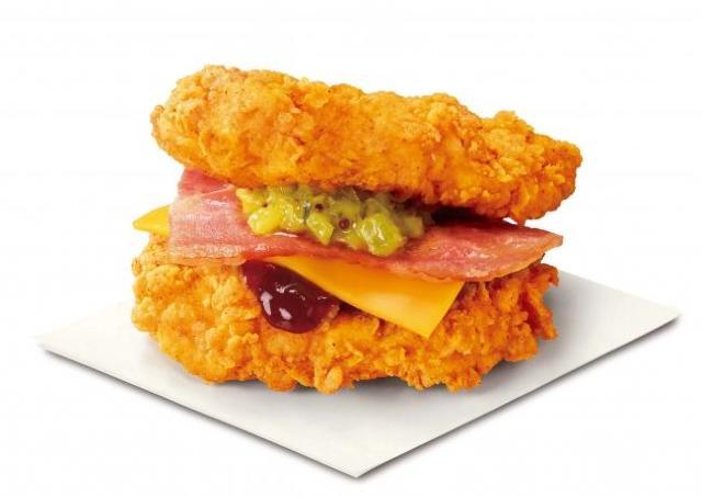 ケンタッキーに、あの「肉で挟む」衝撃バーガーが復活!