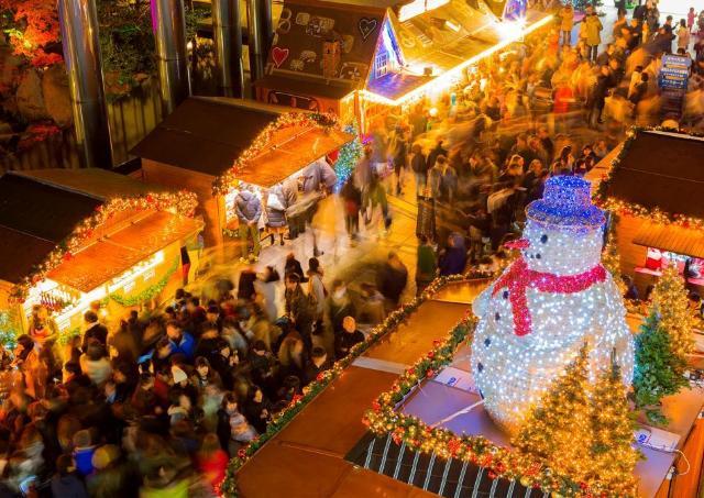 さまざまなグルメも味わえる! 「ドイツ・クリスマスマーケット」開催
