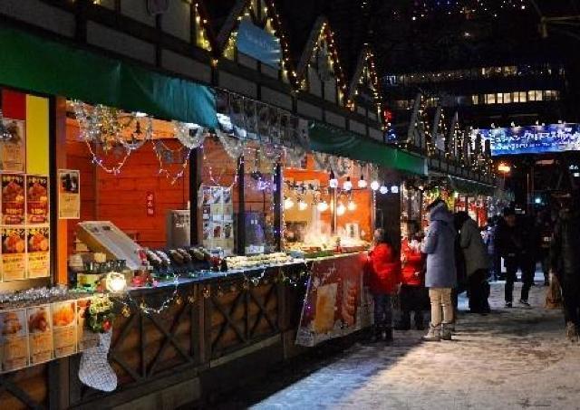 ドイツのクリスマス気分を札幌で...恒例のクリスマス市