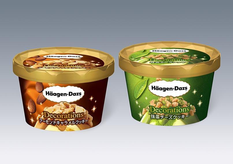 見た目も食感も楽しんで! ハーゲンダッツ新商品、アイスに2種のトッピング