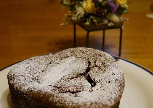 自家製小麦でつくる!ハート型のバレンタインケーキ