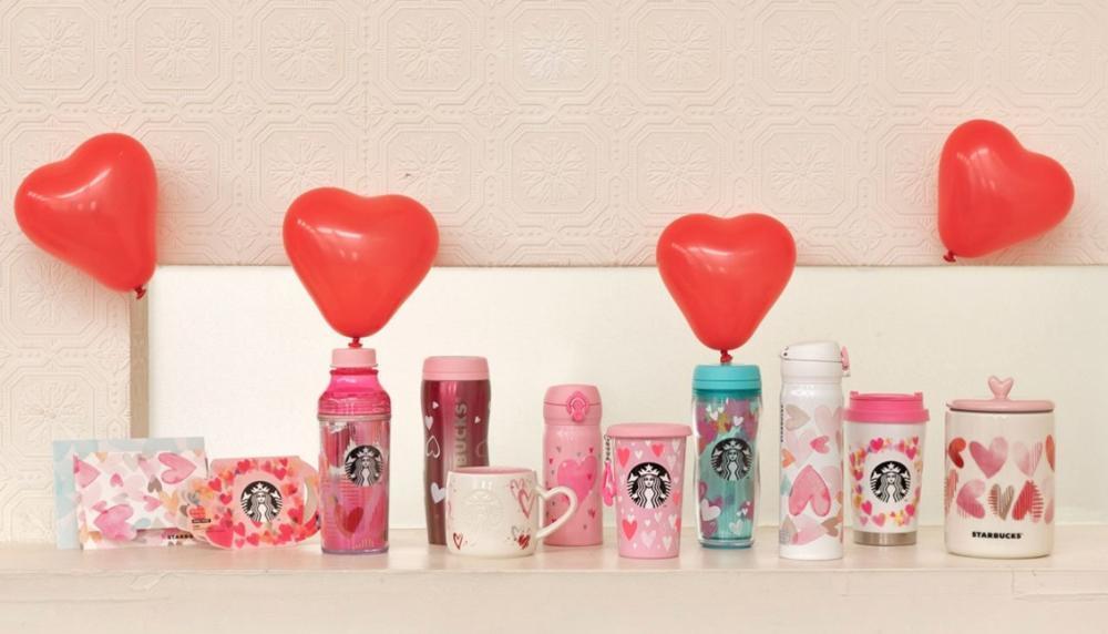 オンラインでは完売続出! スタバのバレンタイングッズが可愛過ぎる件。