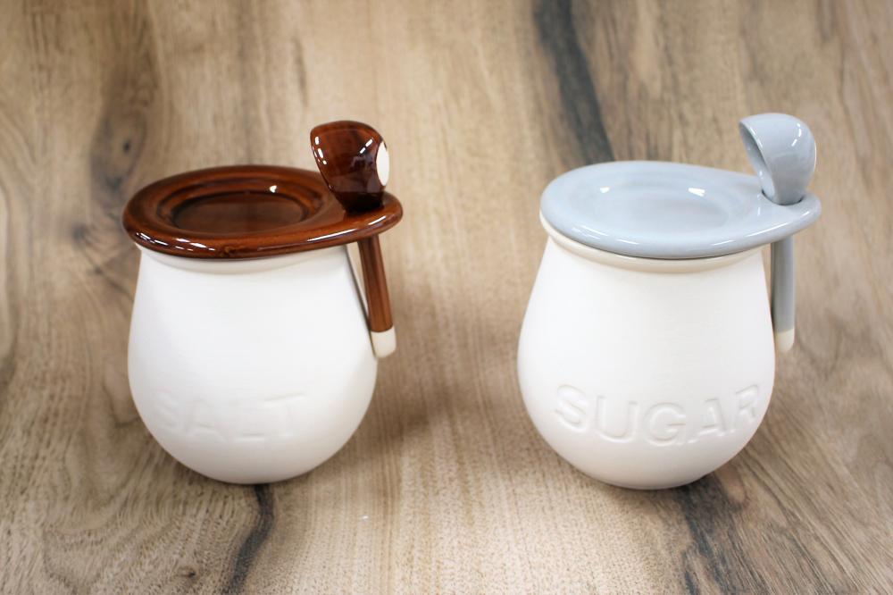 砂糖 入れ ダイソー ダイソー300円商品素焼きポットが秀逸!塩砂糖のサラサラ容器