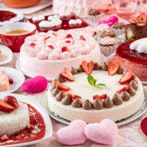 スイパラでバレンタインフェアやってるよ~。 イチゴカレーもハート形サラダも1000円で食べ放題。